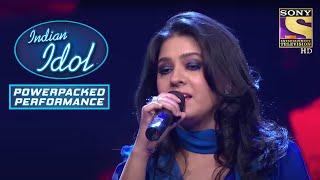 Sunidhi के इस Performance से Contestants हुए Inspire! | Indian Idol | Power Packed Performance - SETINDIA