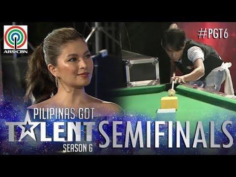 Pilipinas Got Talent 2018 Semifinals: Jonacris Bandillo - Billiard Tricks
