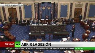 El Senado de EE.UU. inicia sesiones de juicio político contra Trump