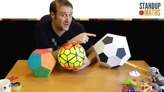 Geometry of Footballs and the Cube-shaped Ball
