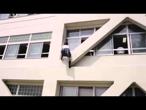 : Schoolgirl as a ninja!  -
