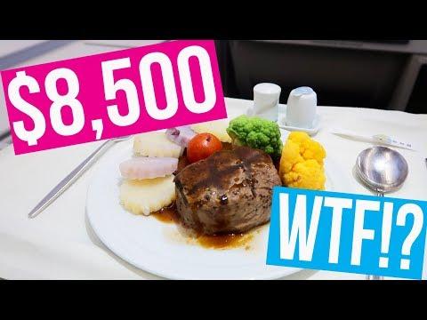 $8,500 FLIGHT ACROSS THE WORLD!!