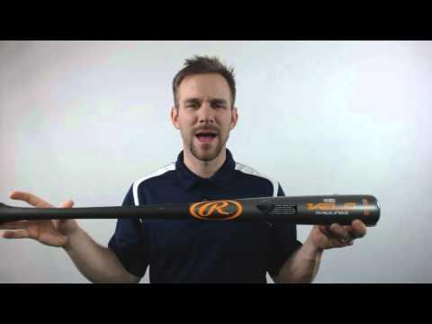 2016 Rawlings VELO Maple/Bamboo Composite Wood Baseball Bat: R110CH