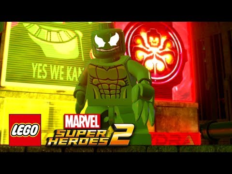 LEGO Marvel Super Heroes 2 - How To Make Hydra-Venom