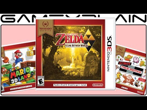 connectYoutube - New Nintendo Selects for 3DS Seemingly Squash Rumor of Zelda: ALBW Switch Port