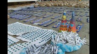 Policía del Valle decomisó más de 130 kilogramos de pólvora en tres municipios