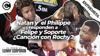 """NATAN Y EL PHILIPPEA responden a FELIPE Y SOPORTE """"RABAKUKUS"""" ¿Un RAP con ROCHY Freestyle en vivo"""
