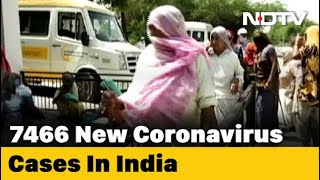 7,466 Coronavirus Cases In India In 24 Hours, Biggest Jump So Far - NDTV