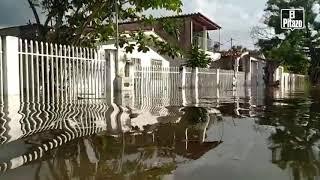 Maracay | Inundaciones se mantienen en Mata Redonda tras desbordamiento de ríos