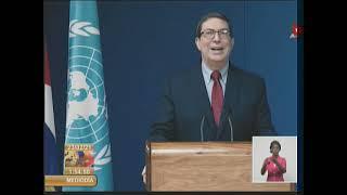 Interviención del Canciller cubano en el 46 Período de Sesiones del Consejo de Derechos
