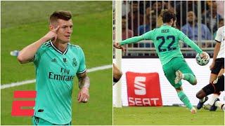Real Madrid goleó al Valencia y está en la final de la Supercopa, mira el gol olímpico de Toni Kroos