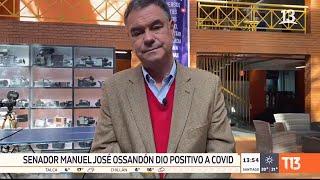 Senador Ossandón es el tercer parlamentario con COVID-19 en Chile
