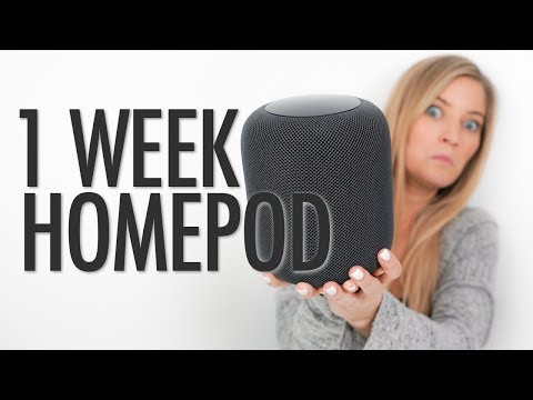 1 Week with HomePod!