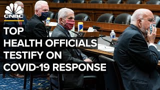 WATCH LIVE: Top health officials testify on Trump administration's Covid-19 response — 9/23/2020