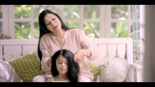 Dabur Amla Hair Oil Daughter