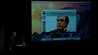 Apple demos Continuity with call to Colbert