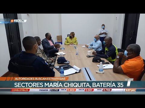 Autoridades de Colón implementan estrategias ante aumento de casos COVID-19