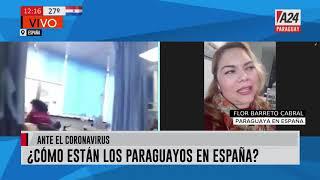 #Ahora Paraguaya en España