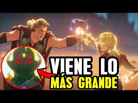 What If ep 7   Thor vs Capitana Marvel y Ultrón con gemas del Infinito explicado