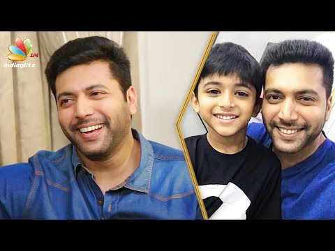 connectYoutube - Difficulties in TIK TIK TIK Movie Making : Jayam Ravi Interview | Son Aarav