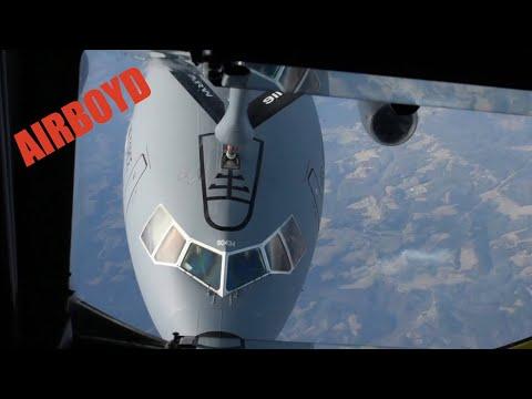 connectYoutube - KC-135 Stratotanker Flight