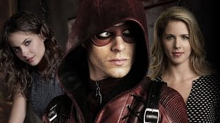 Arrow Cast Interview - Roy Harper, Felicity Smoak, and Thea Queen - Comic Con 2014