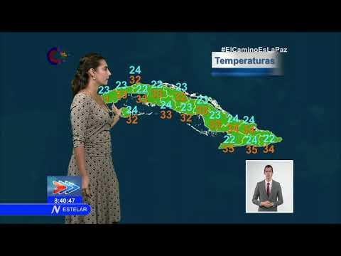 El tiempo en Cuba: algunos chubascos y lluvias en la tarde