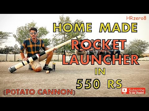 connectYoutube - Home-made Rocket Launcher in 550 Rs (How to make)