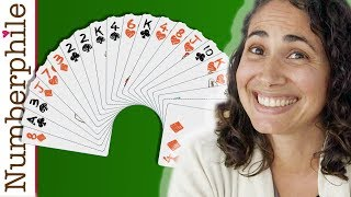 21-card trick - Numberphile