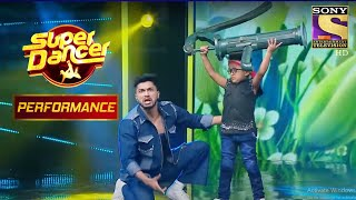 Rishikaysh और  Akash के Dance ने मचाया धूम | Super Dancer Chapter 2 - SETINDIA