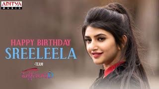 Happy Birthday SreeLeela From Team Pelli SandaD  |Roshann | M. M. Keeravani | K Raghavendra Rao - ADITYAMUSIC