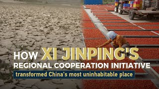 How Xi Jinping's regional cooperation initiative transformed China's most uninhabitable town