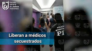 Rescatan a 14 médicos secuestrados en hotel de MH