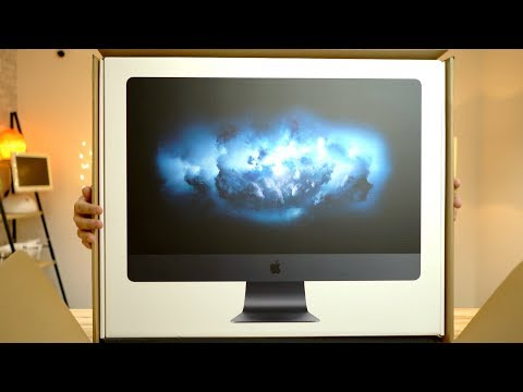 Cinematic iMac Pro Unboxing