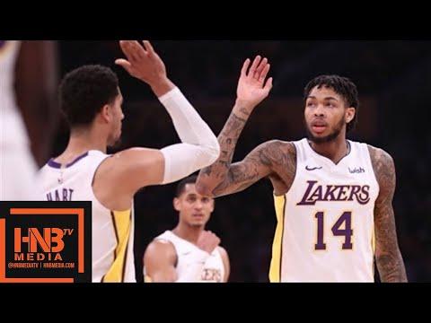 Los Angeles Lakers vs New York Knicks 1st Half Highlights / Jan 21 / 2017-18 NBA Season