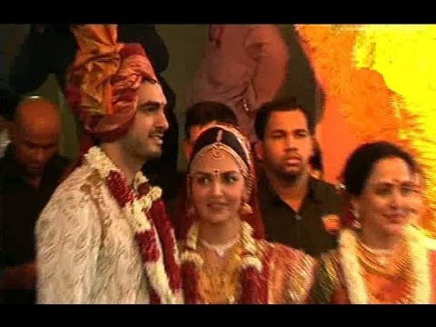 Esha Deol And Bharat - Wedding Ceremony - EXCLUSIVE FOOTAGE