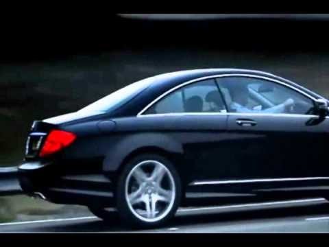 Mercedes-Benz 2011 Black Luxury CL 500 commercial