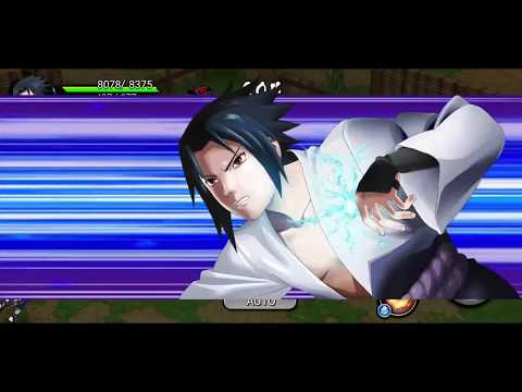 connectYoutube - NARUTO X BORUTO NINJA VOLTAGE Android Gameplay #10 (Sasuke 3 Star Awakening)