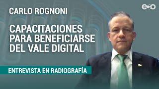 Capacitaciones para beneficiarse del vale digital serán en línea y no presenciales | RadioGrafía