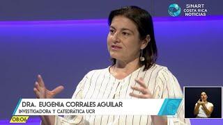 Entrevista Dra. Eugenia Corrales, Doctora en Ciencias Naturales con Énfasis en Virus