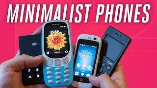 Smartphone detox with minimalist phones