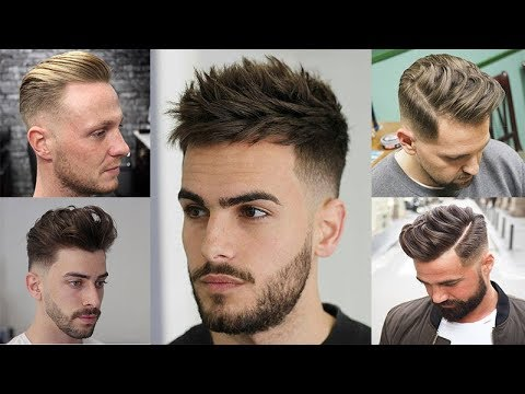 connectYoutube - Top 10 Haircuts & Hairstyles Trends For Guys in 2018