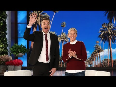 Ellen Celebrates Dax Shepard's Bromance with Executive Producer Andy