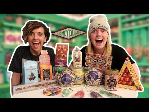 Trying Harry Potter Candy from Honeydukes ft. Tessa Netting