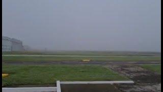 Densa neblina obliga a suspender operaciones en el Aeropuerto Internacional La Aurora