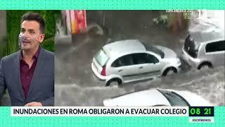 Lluvias y viento en sur de Chile y otros feno?menos clima?ticos mundiales. Bienvenidos, Canal 13.