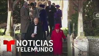 Familia real británica visita la iglesia de Santa María Magdalena   Noticias Telemundo