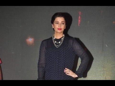 Aishwarya Rai Bachchan Promoting 'Jazbaa'