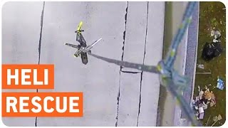 Drone Rescues RC Helicopter | Get In The Choppa!