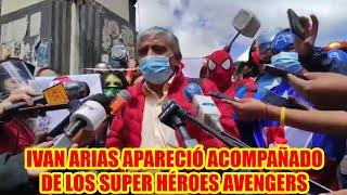 IVAN ARIAS MENCIONÓ QUE LOS AVENGERS LLEGARON PARA APOYAR SU CAMPAÑA...